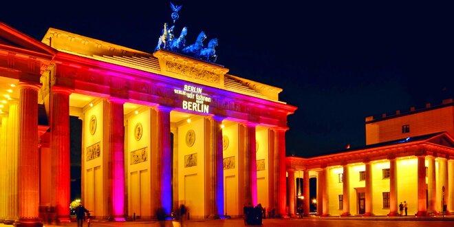 Výlet do Berlína na říjnový Festival světel
