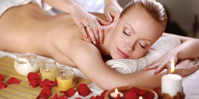Hodinka hýčkání: masáž dle výběru