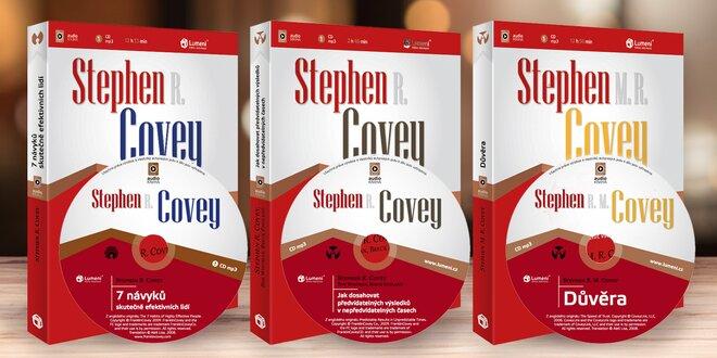 Motivační audioknihy Stephena R. Coveyho na CD
