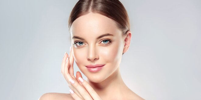 Kosmetické ošetření suché, zralé a citlivé pleti s masáží