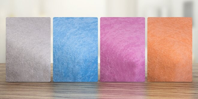 Napínací froté prostěradla - 22 barev na výběr