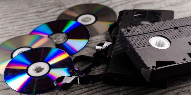 Přepis videa z VHS na DVD