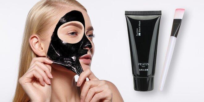 Pleťová maska Pilaten v tubě a štěteček