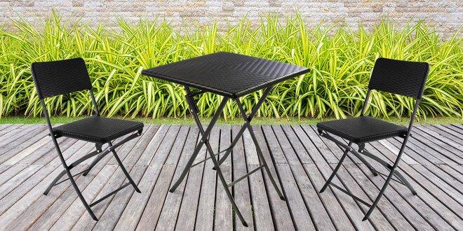Zahradní nábytek z umělého ratanu