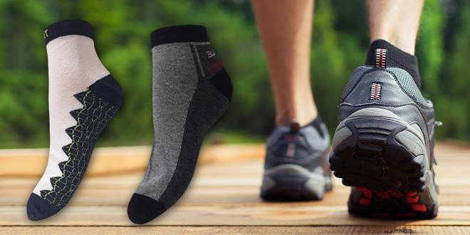 6 párů pánských ponožek na treking i běžné nošení