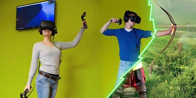 2 či 3 hodiny virtuální reality pro celou partu