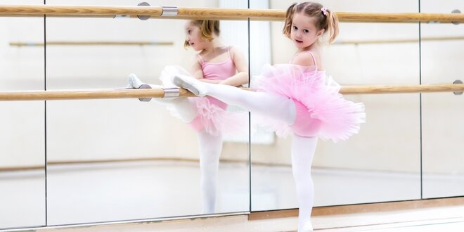 Taneční a baletní kurzy pro děti od 4 do 6 let