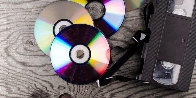 Převod VHS kazety do digitální podoby