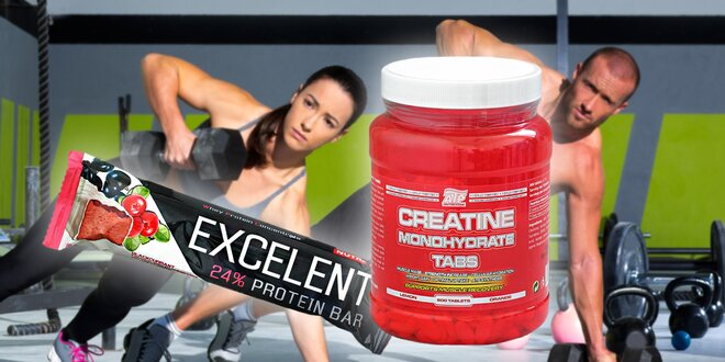 Kreatin pro růst svalů + dárek proteinová tyčinka