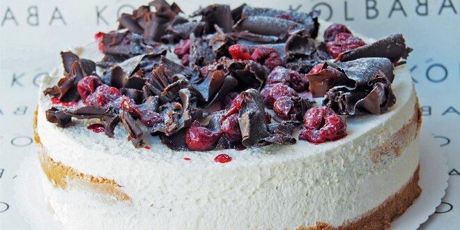 Lákavý 1,8kg dort z ostravské cukrárny Kolbaba