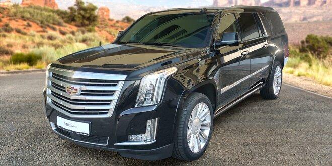 Záloha na luxusní rodinný vůz Cadillac Escalade
