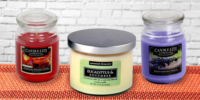 Vonné svíčky a vosky do aroma lampy Candle Lite