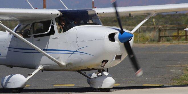 Vyhlídkový let letadlem dle výběru