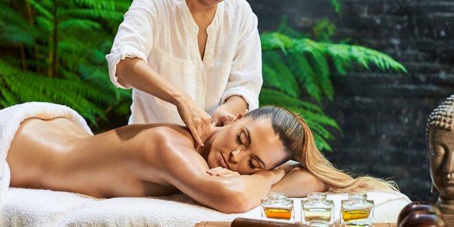 Poctivá masáž dle výběru i skvostná lázeň