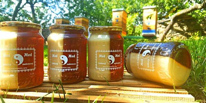 Vynikající med z Vysočiny v provedení Jin Jang