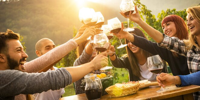 Uchutnávky vín na Kunratickém vinobraní