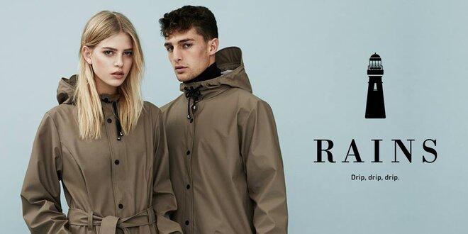 Elegantní pánské pláštěnky dánské značky RAINS
