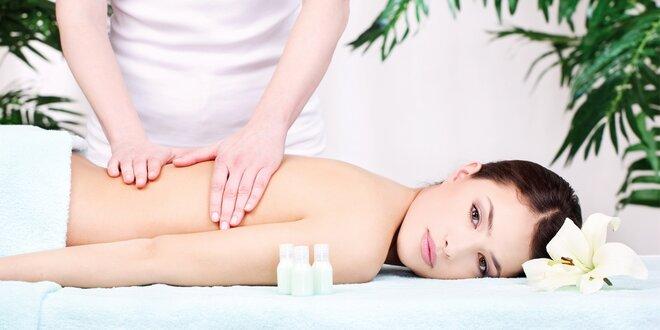 Švédská masáž a kompletní kosmetické ošetření