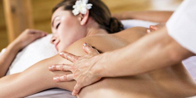 Relaxační voňavé masáže s peelingem pro ženy i muže