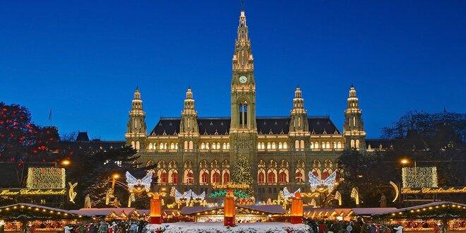 Výlet za kouzlem vánoční Vídně: trasa z Prahy