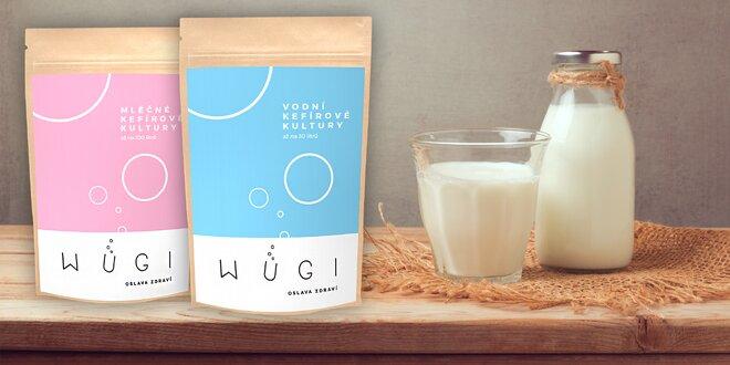 Vyrobte si zdravý domácí kefír z kultur WUGI