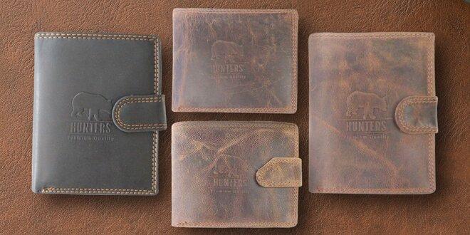 Pánské kožené peněženky Hunters