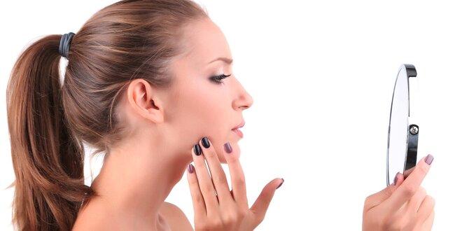 Péče o aknózní pleť včetně laserového ošetření