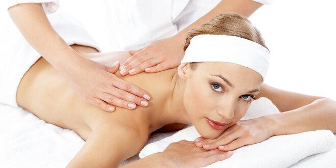 Kombinovaná masáž pro úlevu těla i duše