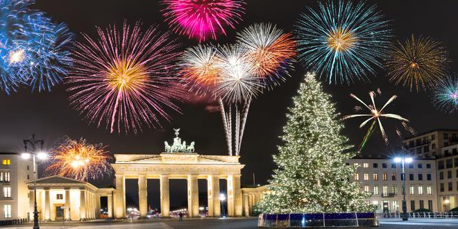 Silvestr v Berlíně: ohňostroj i prohlídka města