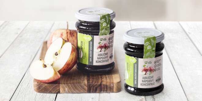 Čistá 100% jablečná šťáva od českého výrobce