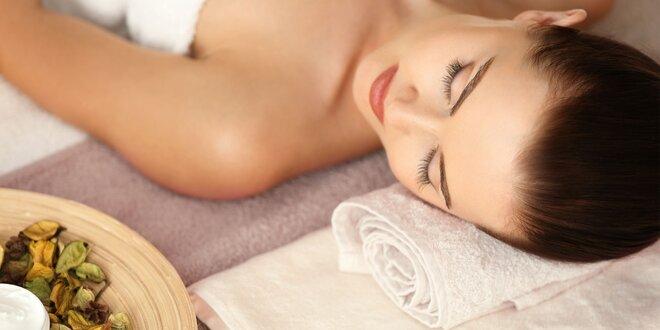 Více než 1,5 hodiny relaxačních procedur