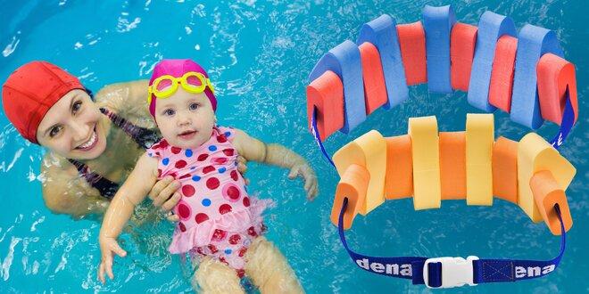 Pro klid u vody: plavecké pásy pro děti