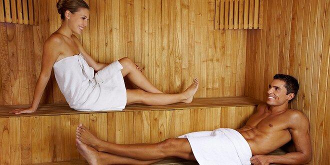Hodina privátního voňavého saunování pro dva