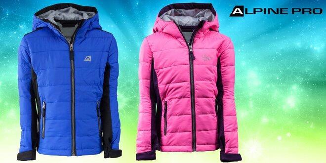 48dc12df695 Nepromokavá podzimní bunda Alpine Pro pro děti
