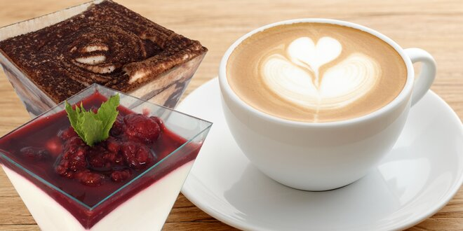 Pauzička v Galaxii: dezert a káva nebo čaj
