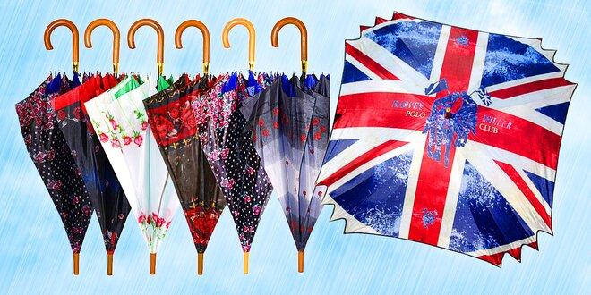 Originální čtvercové a dvouplášťové deštníky