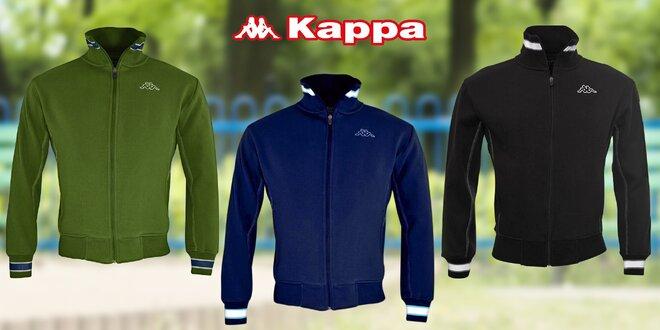 Dětská mikina značky Kappa s hřejivým fleecem