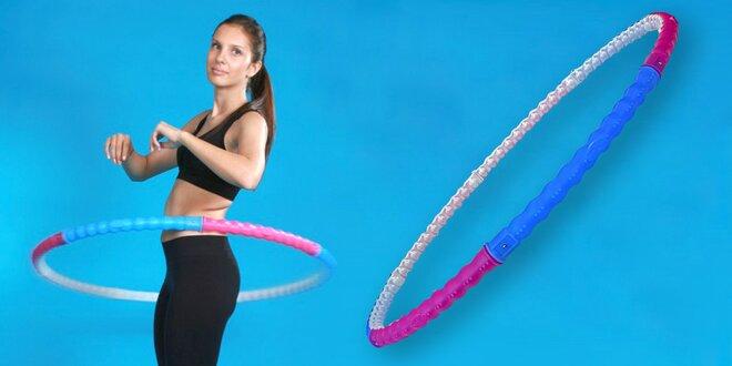 I cvičení může být zábava: obruče hula hoop