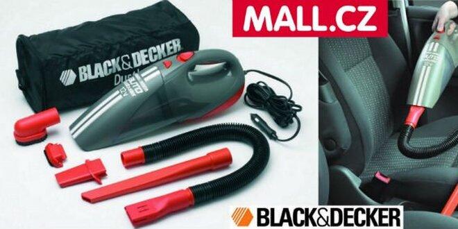 50 Kč za kupon v hodnotě 500 Kč na nákup autovysavače Black&Decker ACV1205!
