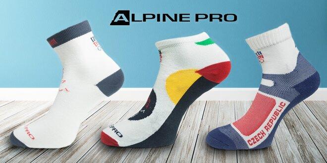 Sportovní ponožky Alpine Pro z limitované kolekce