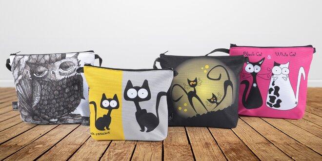 Designové kabelky GAUL s originálním potiskem