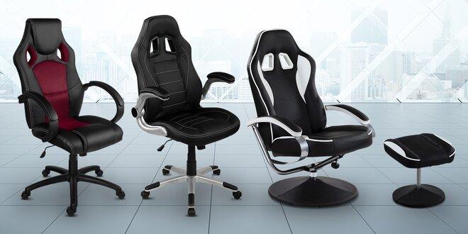 Výběr kancelářských židlí se sportovním designem