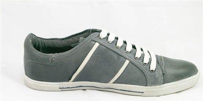 Pánské šedé tenisky Tom Tailor  85f43bdab80