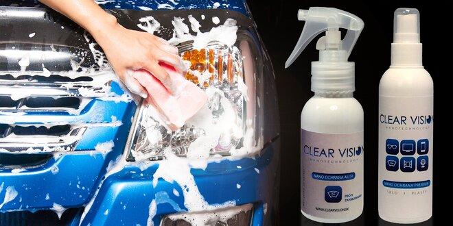 Nanokosmetika pro chráněný povrch skel a plastů