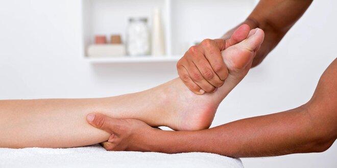 Reflexní 50minutová masáž plosky nohy