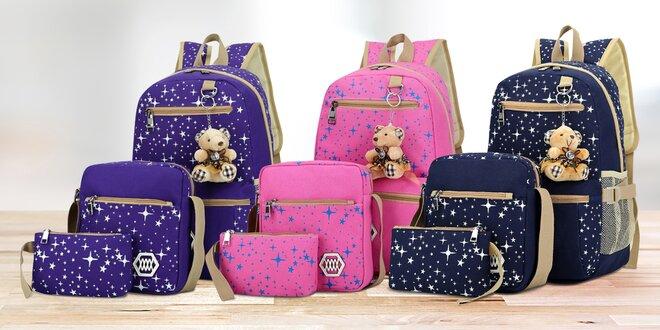 3dílná sada batohů