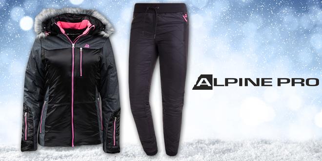 Dámská zimní bunda a zateplené kalhoty Alpine Pro