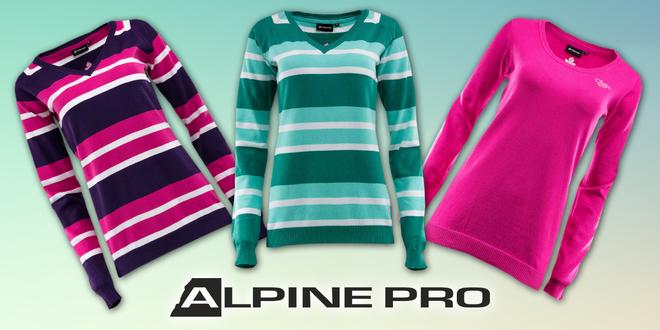 Dámské bavlněné svetry Alpine Pro  d84158fcf3