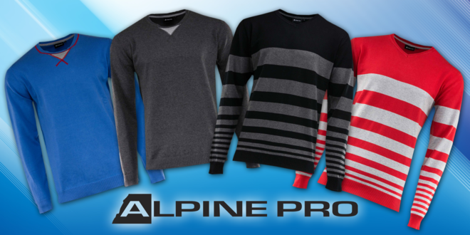 Pánské bavlněné svetry Alpine Pro