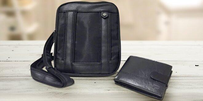 Pánská kožená peněženka a taška Grande Milano